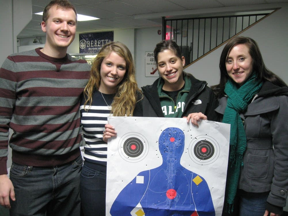 Ladies' night at the range