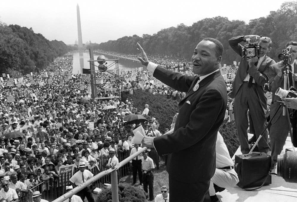 Photos 18 Historic Images From The 1963 March On Washington Mpr News