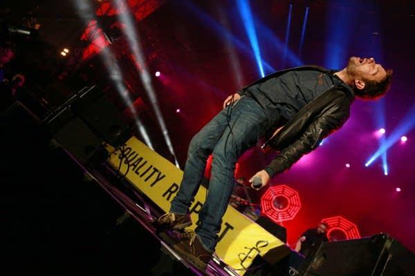 Damon Albarn performs live