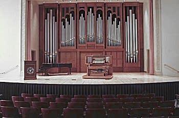 2002 Quimby organ at Gano Chapel, William Jewell College, Liberty, Missouri