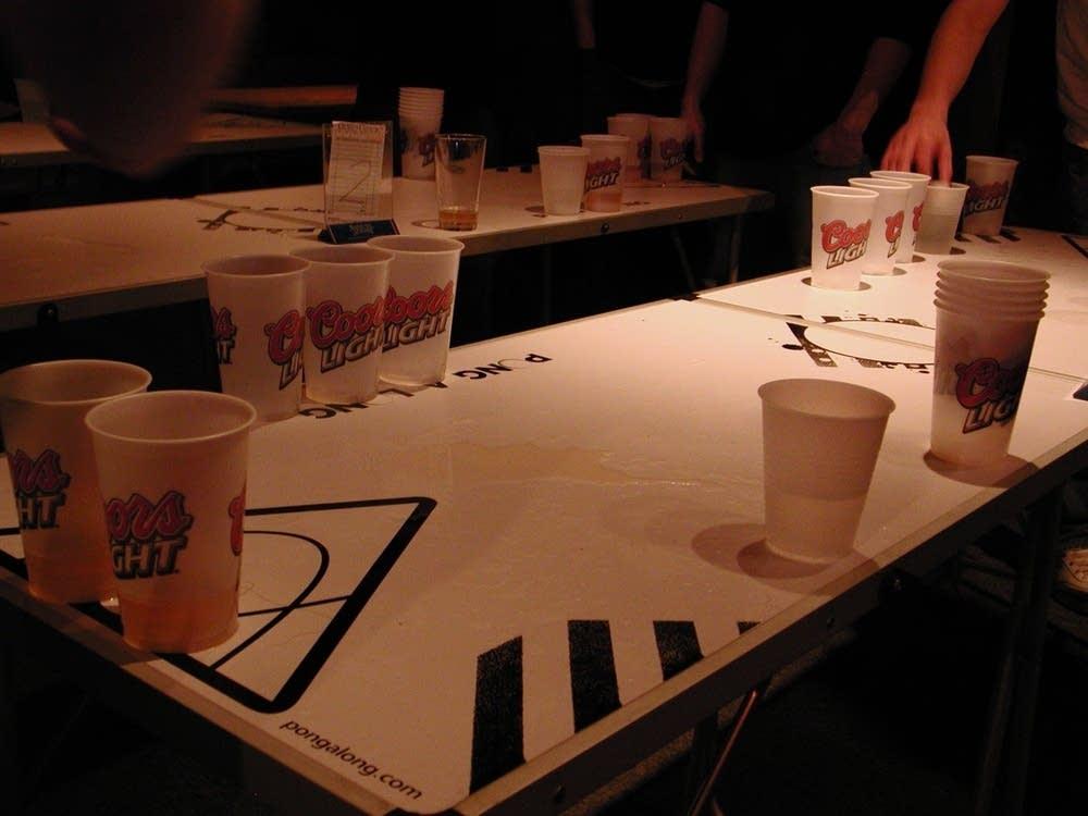 Popular drinking game