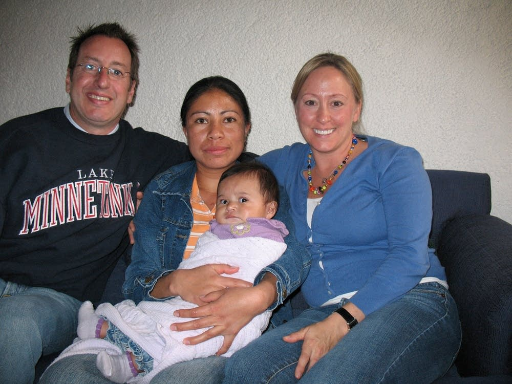 Schmelz family with nanny