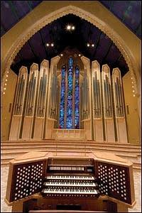 2006 Holtkamp organ in Boe Chapel at Saint Olaf College, Northfield, MN
