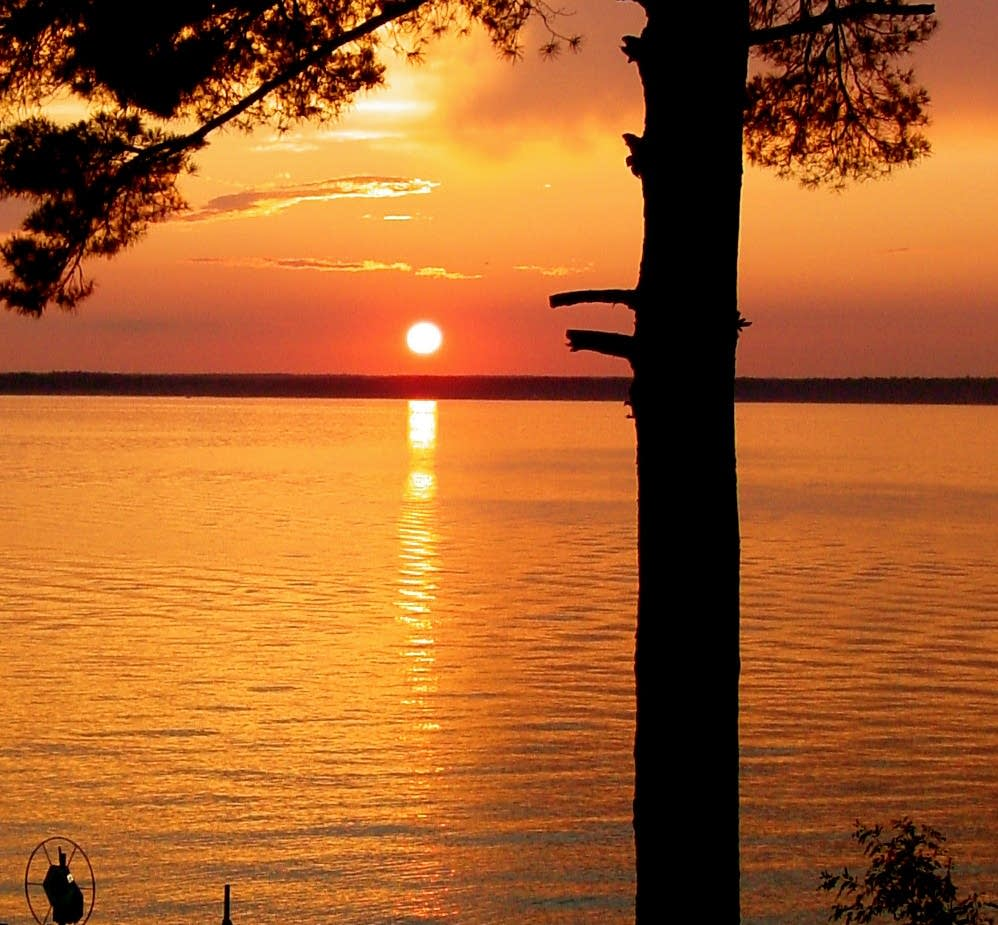 Sunset on Gull Lake