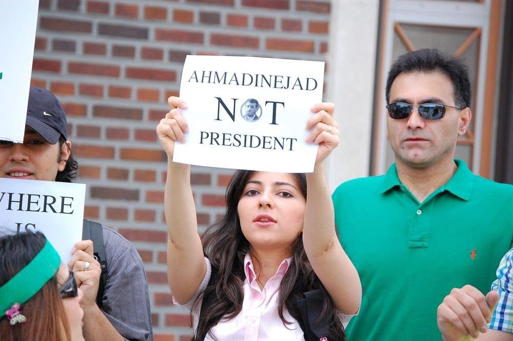 'Not president'
