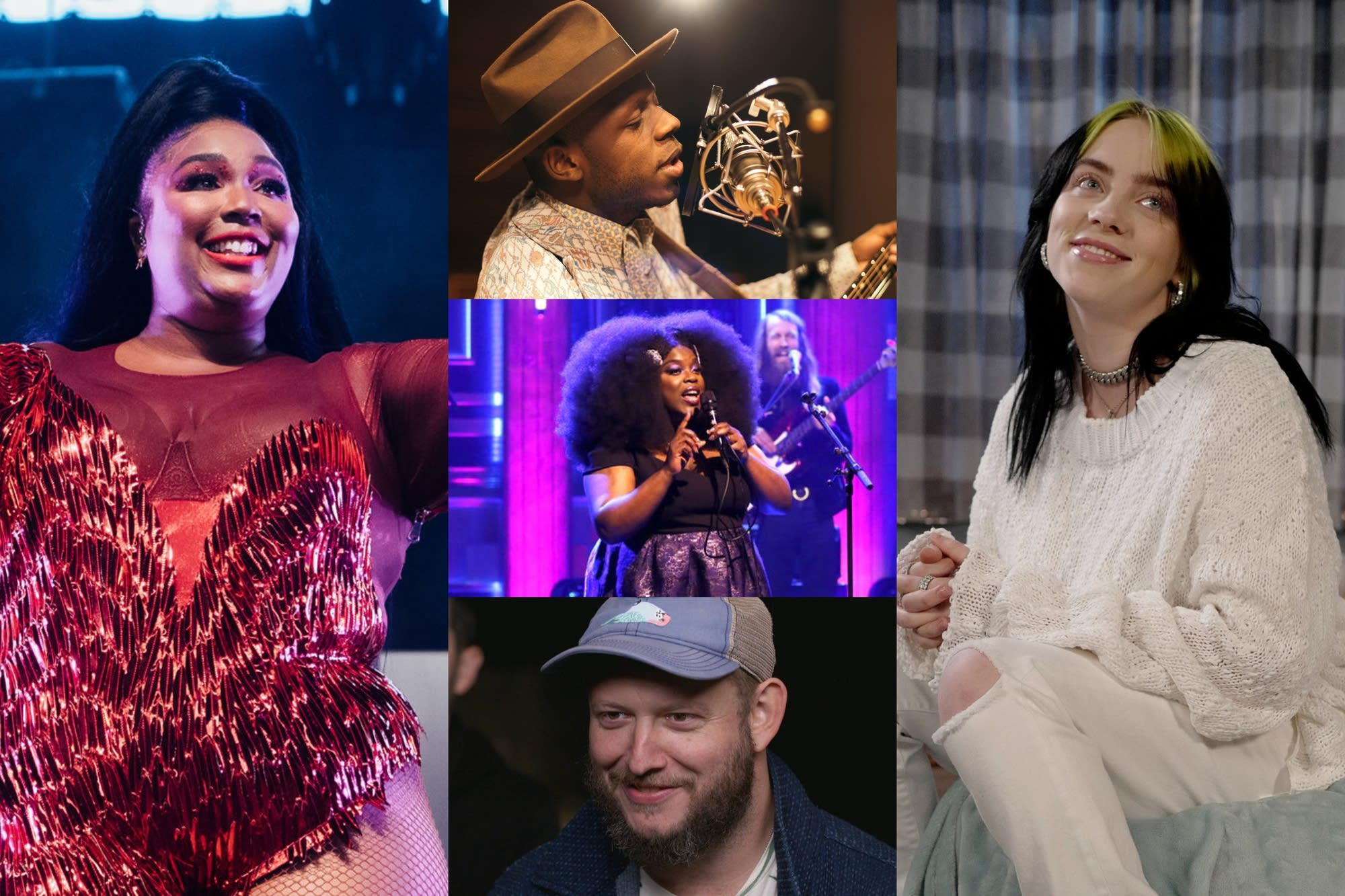 2020 Grammy contenders collage