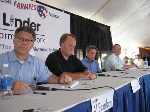 Farmfest Senate debate