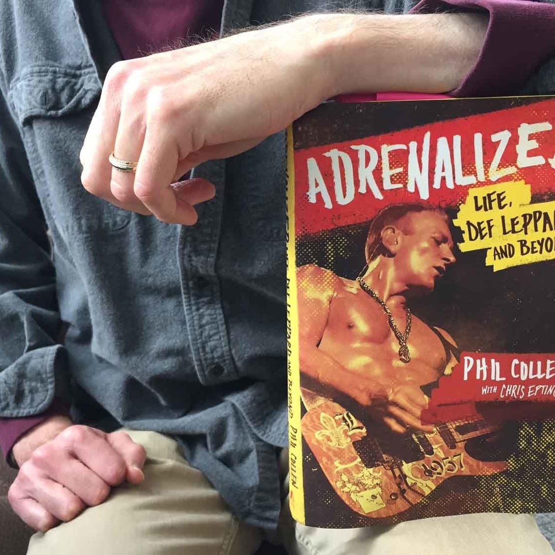 Phil Collen's book, 'Adrenalized'
