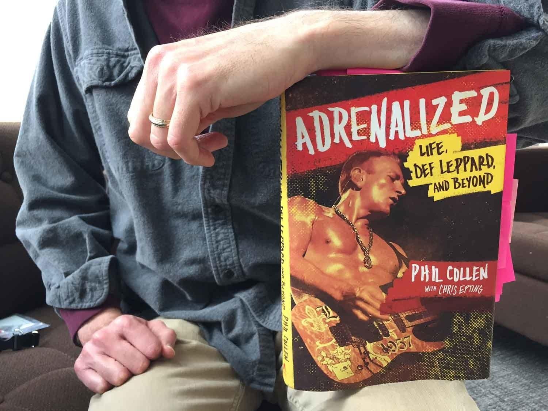 Phil Collen's book, 'Adrenalized'