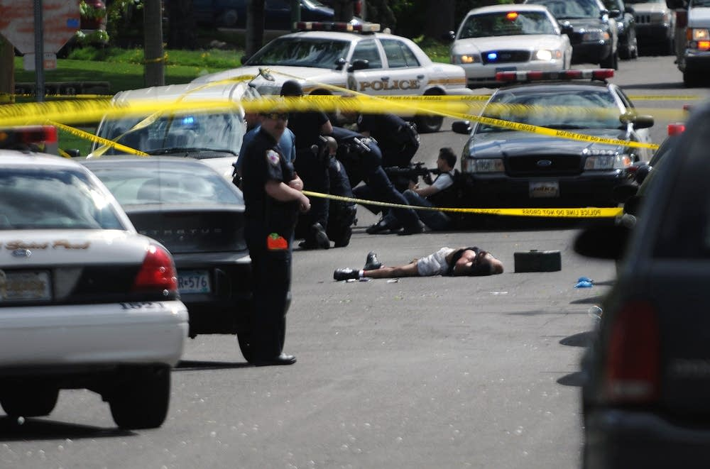 Dead suspect