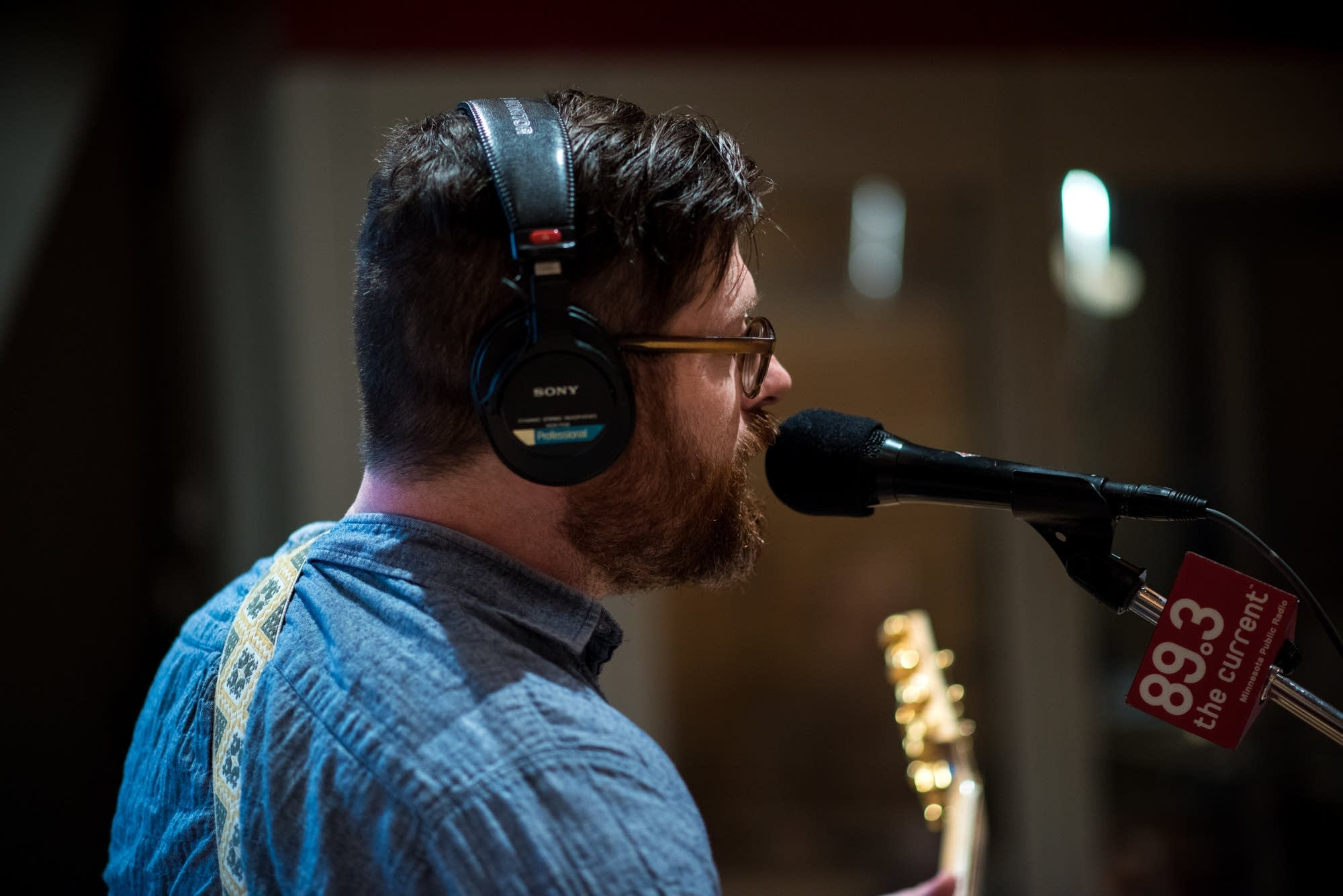Colin Meloy of the Decemberists performs