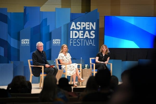 "Aspen Ideas Festival panel about ""Revising the Narrative on Rural America."""