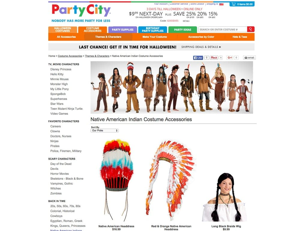 native american halloween costumes