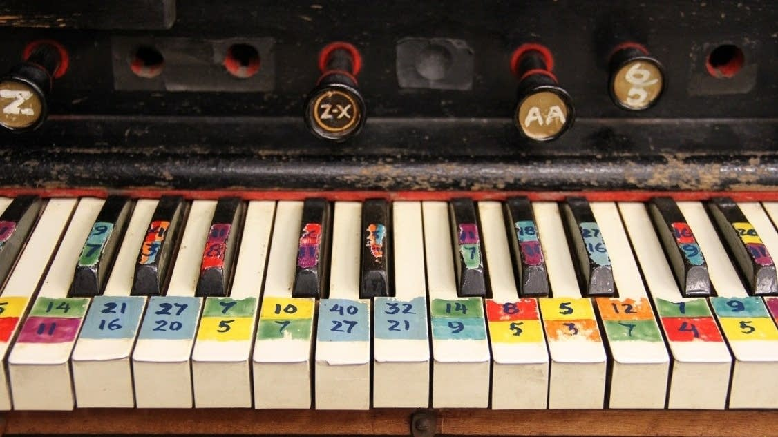 The keyboard of Harry Partch's