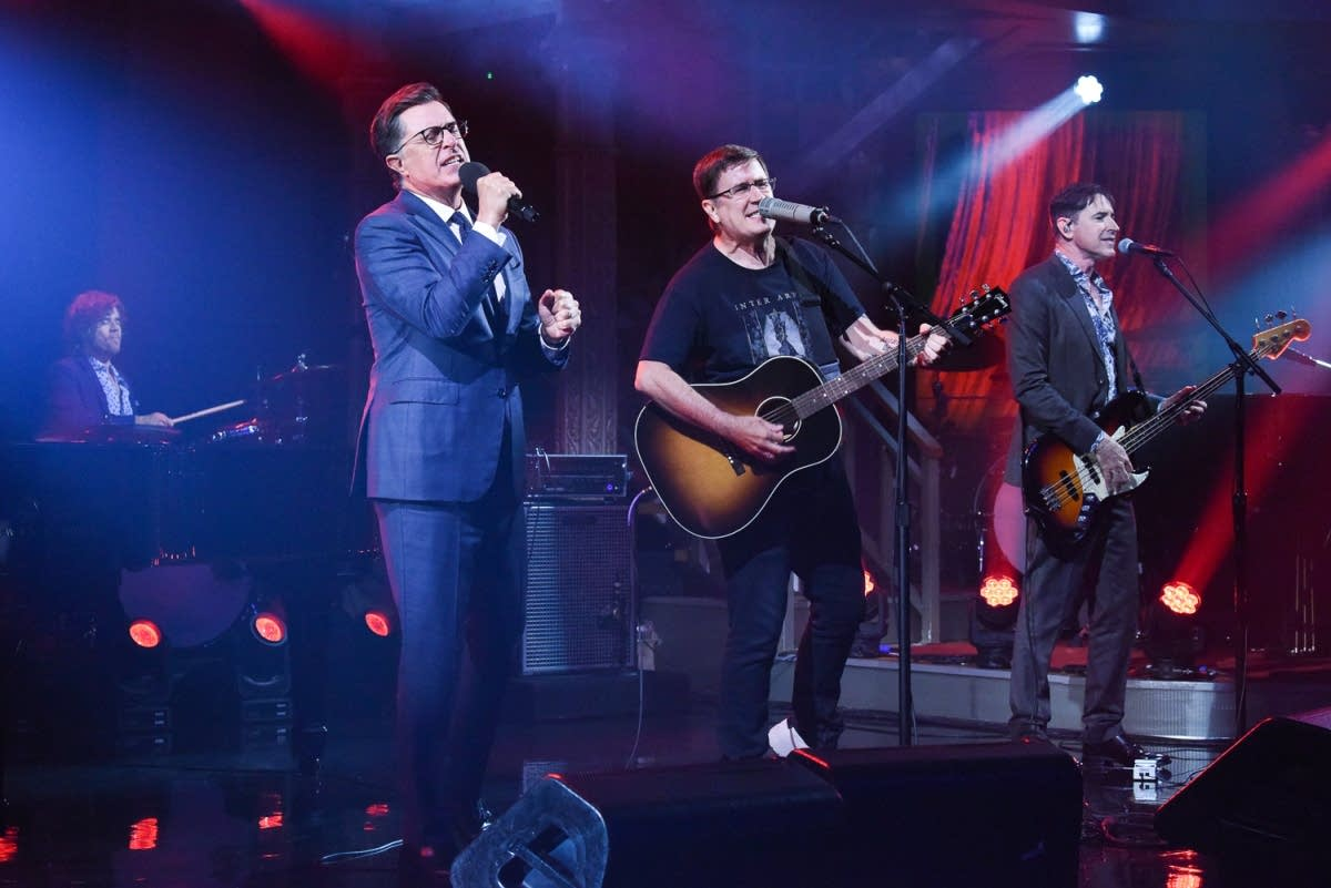 The Mountain Goats perform on 'The Late Show with Stephen Colbert'