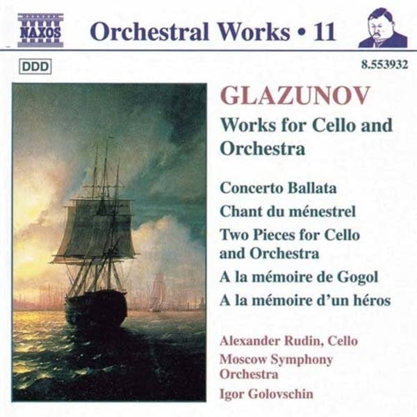 Alexander Glazunov - Chant du menestrel for Cello and Orchestra