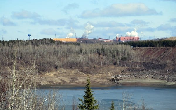 U.S. Steel's Minntac taconite mine and plant
