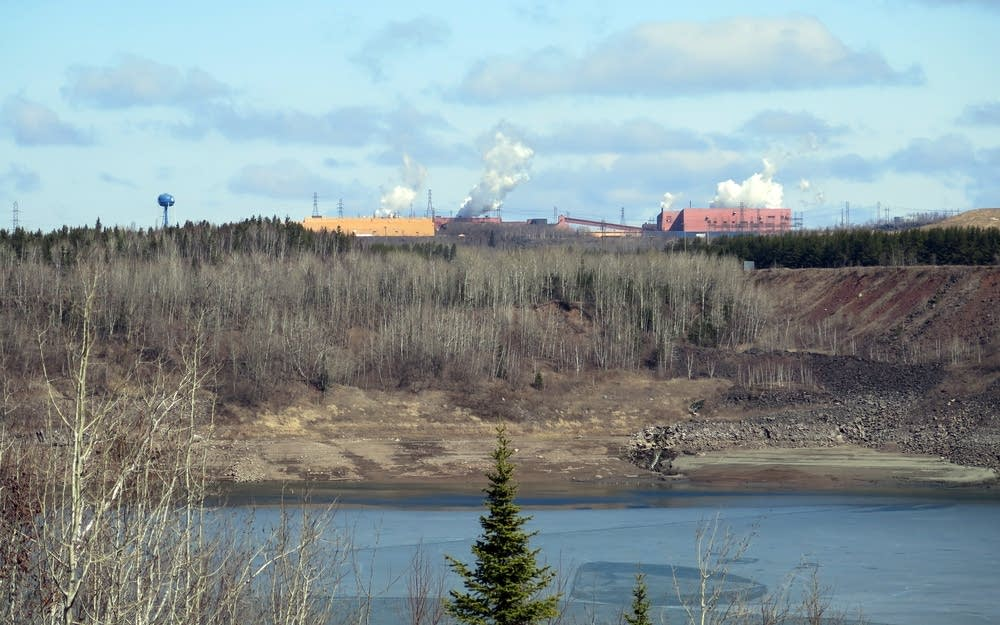 U.S. Steel's Minntac taconite mine and plant