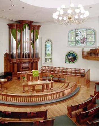 1999 Dobson-Rosales organ at West Market Street UMC, Greensboro, North Carolina