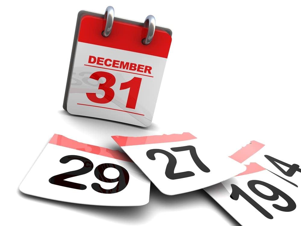 Year-end Calendar