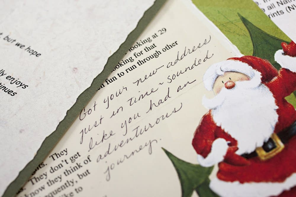 Holiday letters