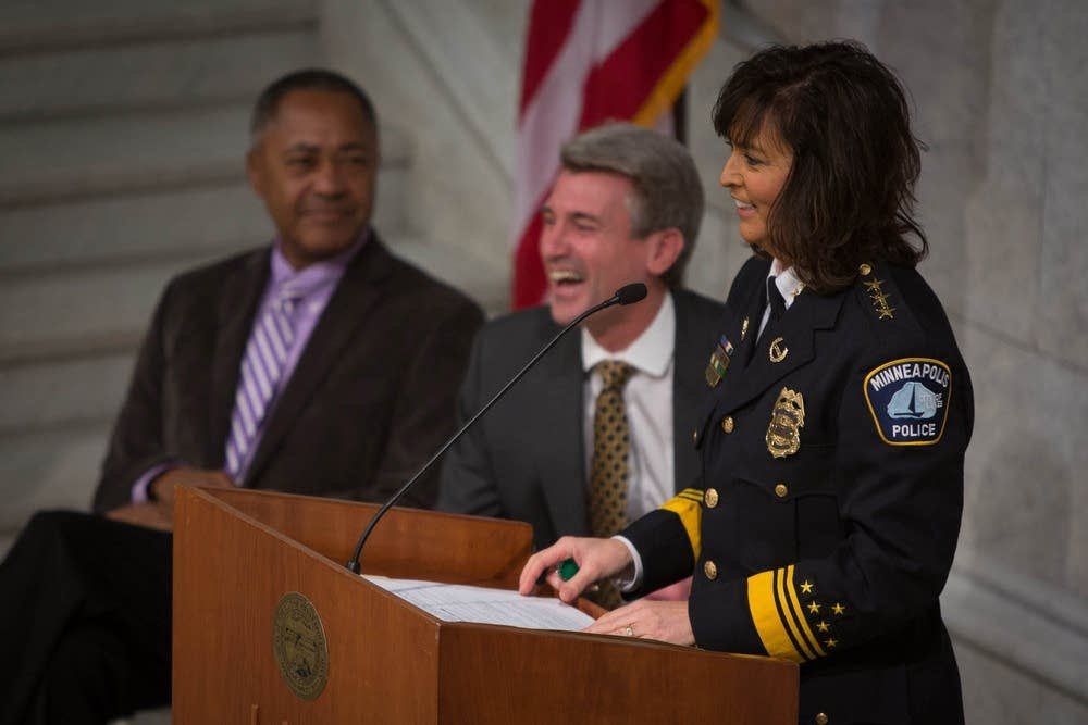 Minneapolis police chief