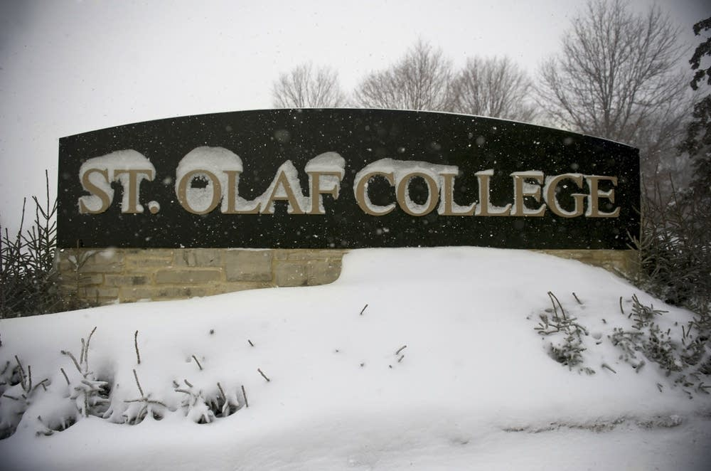 St. Olaf College in winter