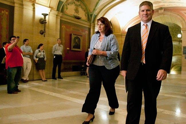 GOP leaders meet with Dayton