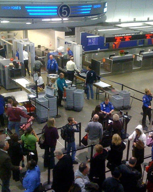 All clear' at MSP airport after security scare | MPR News
