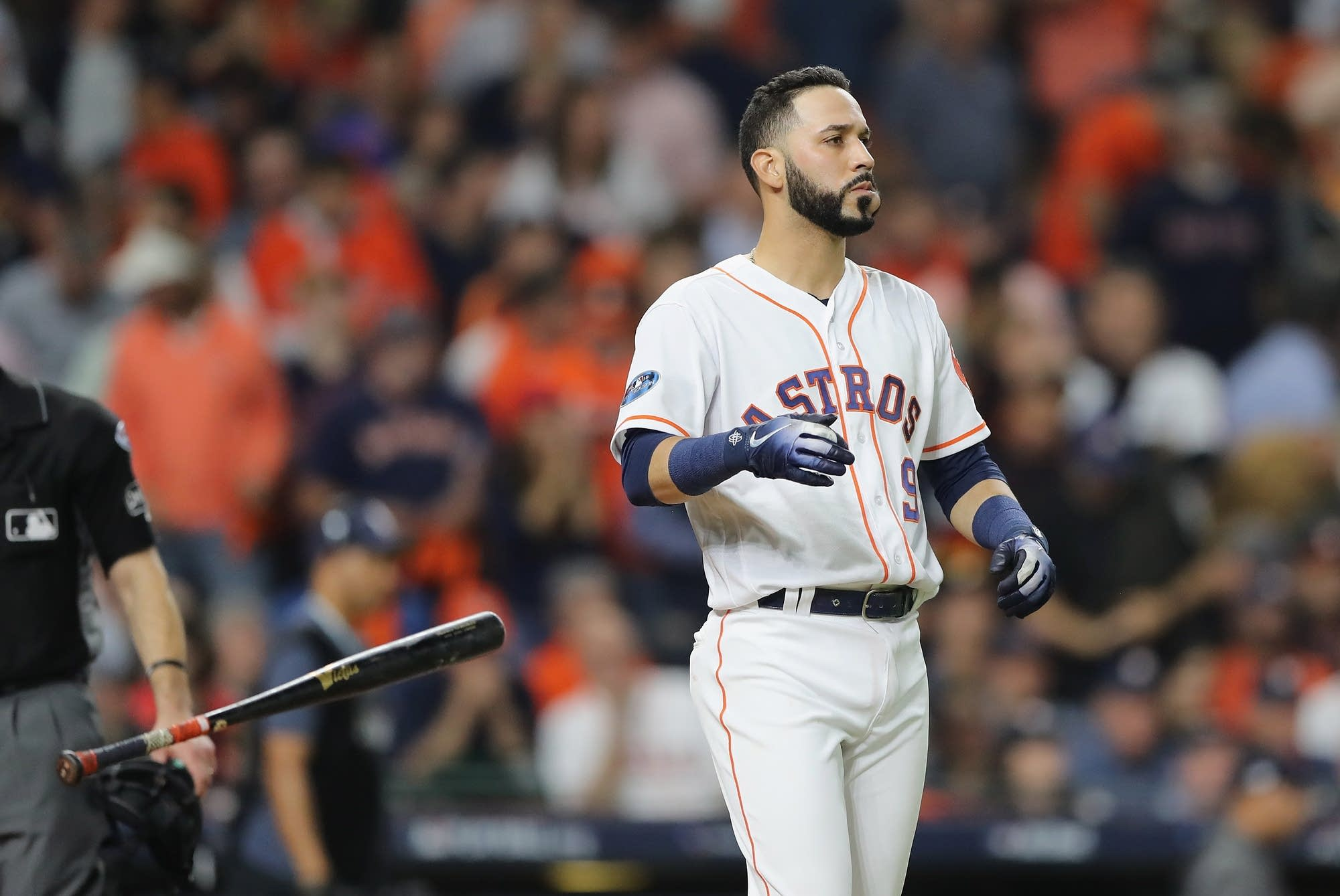 Marwin Gonzalez of the Houston Astros