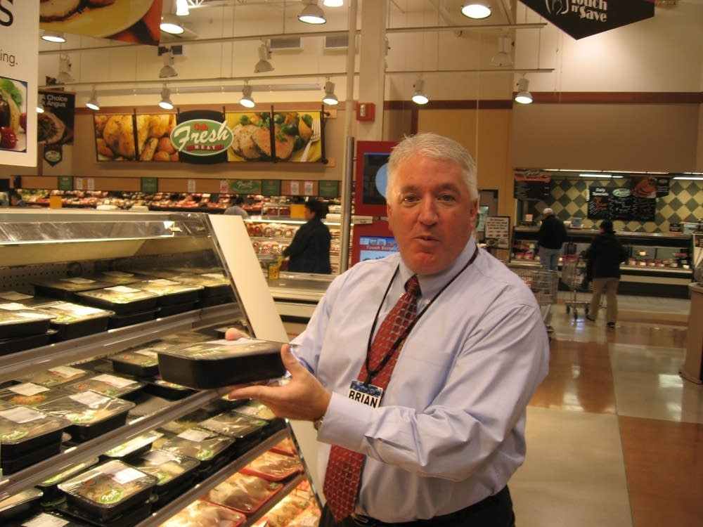 Cub president Brian Huff