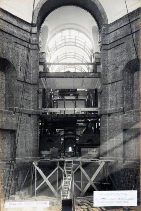 Capitol construction, Nov. 2, 1903