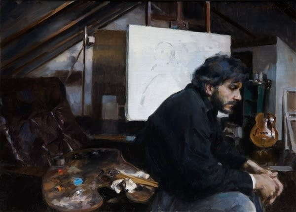 Self Portrait by Paul Oxborough