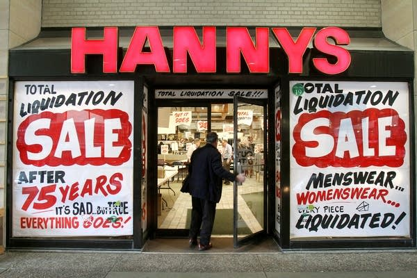 Hanny's liquidation sale