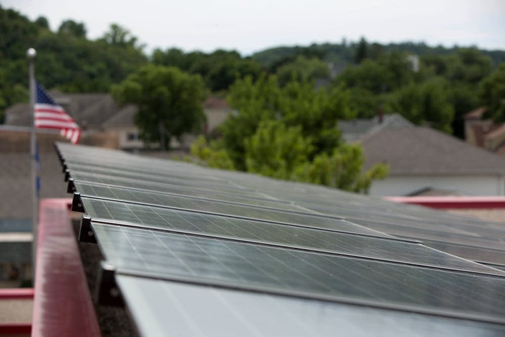 Solar panels in Red Wing