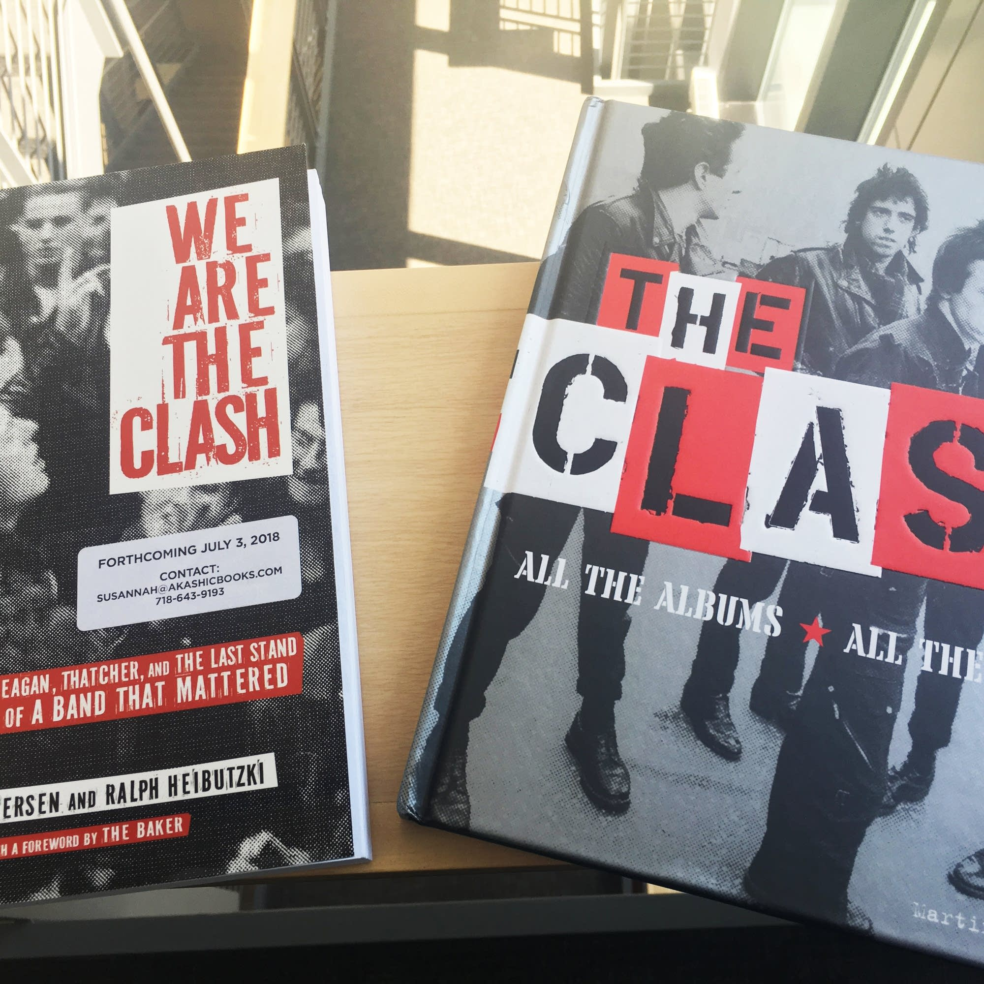 Two new books about the Clash.