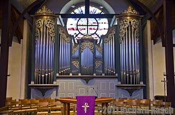 1995 Noack organ at Christ the King Lutheran Church, Houston, TX