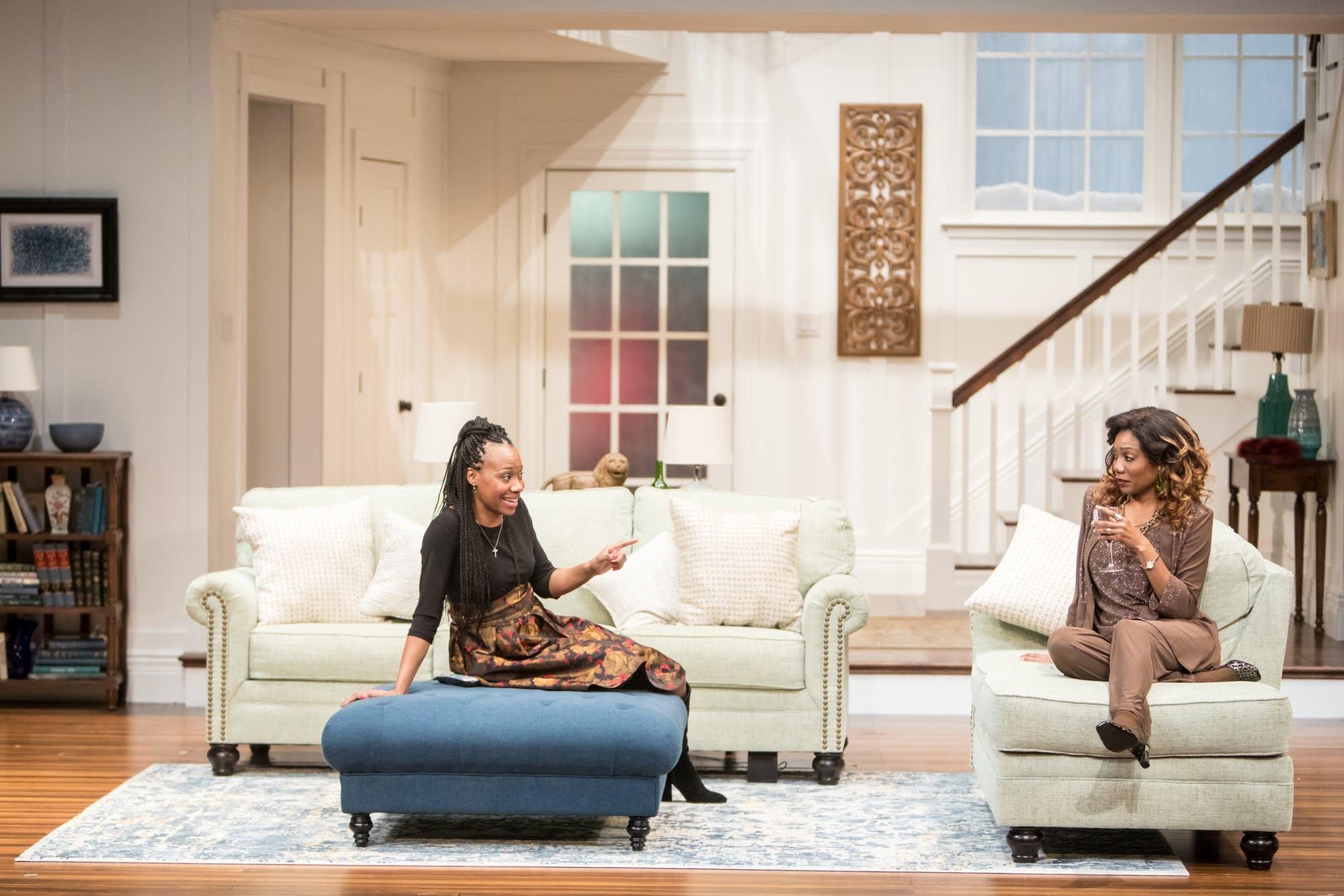 Sha Cage and Austene Van play members of a Zimbabwean-American family.