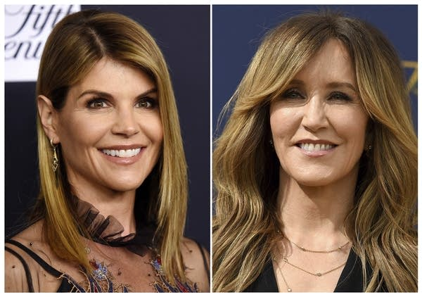 Lori Loughlin and Felicity Huffman.