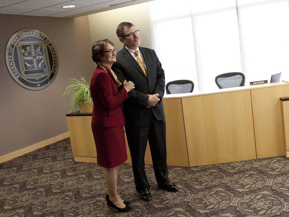 Eric and Karen Kaler