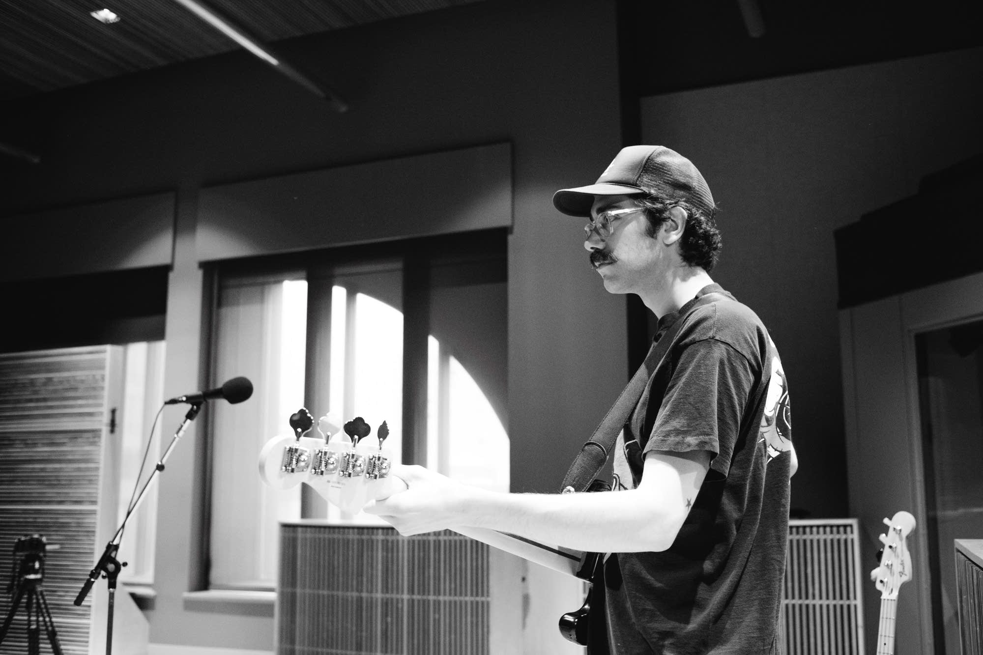 Remo Drive perform in The Current studio
