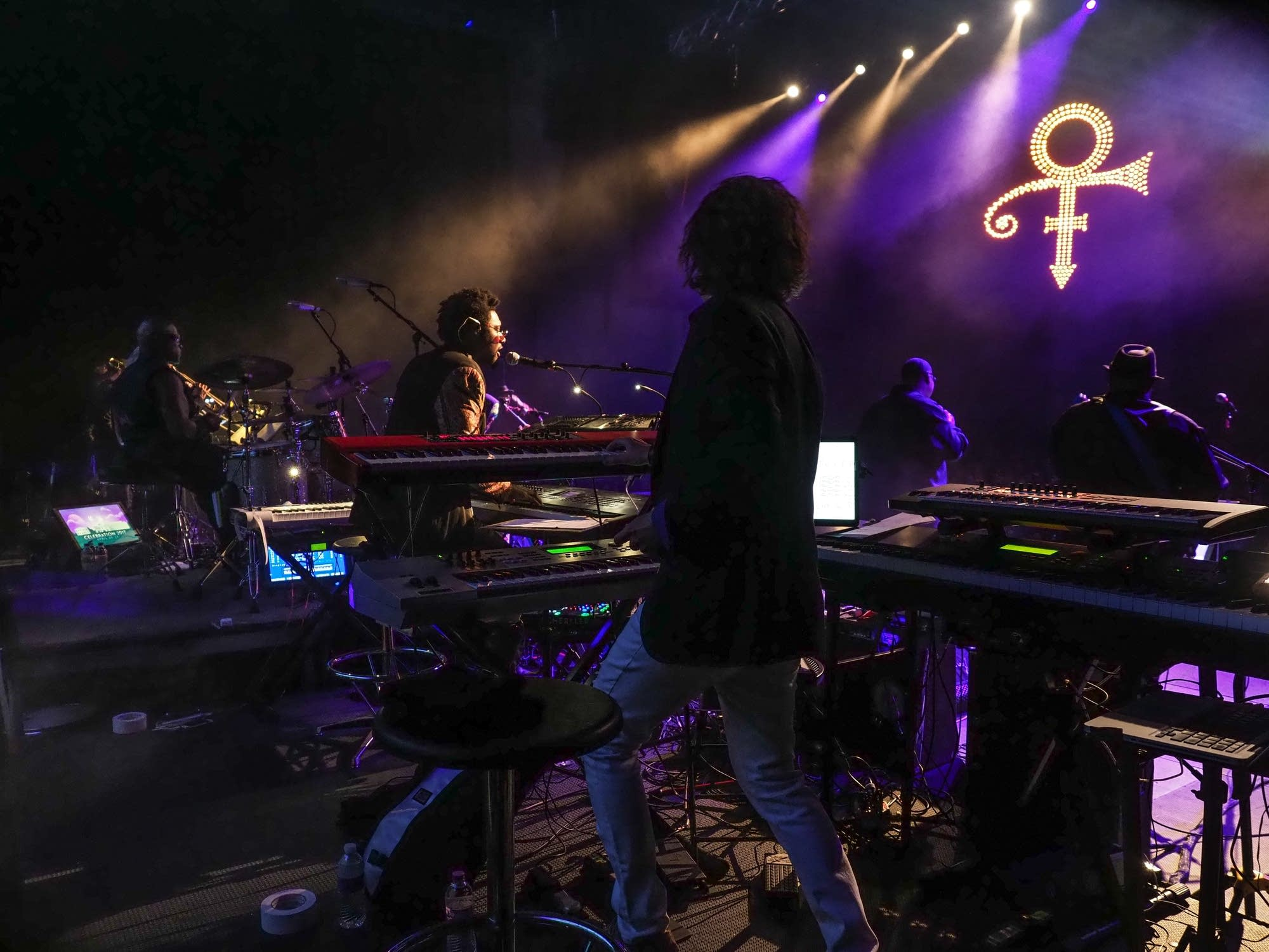 New Power Generation performing at Paisley Park in 2017