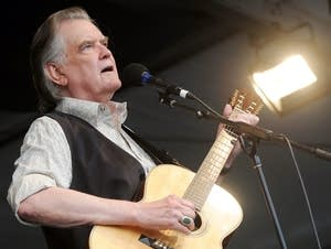 Guy Clark performs in New Orleans.