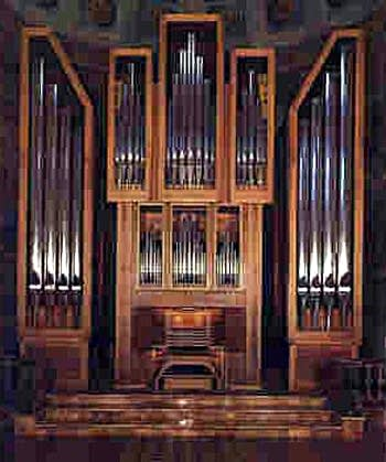 1978 Mascioni organ at the Church of Saint Alessandro, Barzio, Italy