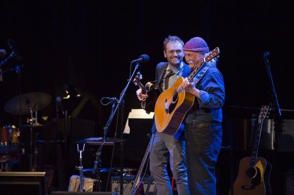 Chris Thile and David Crosby