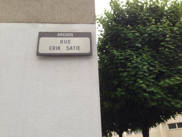 Rue Erik Satie