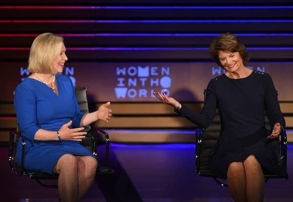 US Senator Kirsten Gillibrand,and US Senator Lisa Murkowski