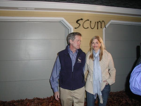 Norm Coleman and wife Laurie