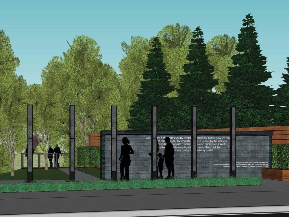 Memorial rendering