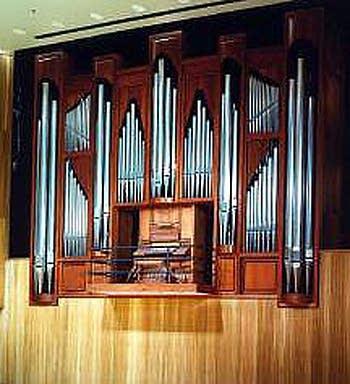 1990 Fisk organ at Slee Hall, University of Buffalo, NY